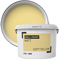 Soft yellow Matt Emulsion paint 2.5L