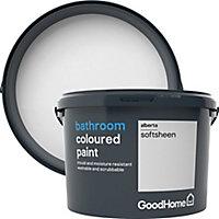 GoodHome Bathroom Alberta Soft sheen Emulsion paint 2.5L