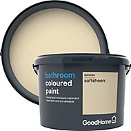 GoodHome Bathroom Toronto Soft sheen Emulsion paint 2.5