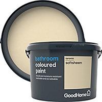 GoodHome Bathroom Toronto Soft sheen Emulsion paint 2.5L