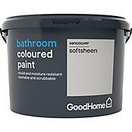 GoodHome Bathroom Vancouver Soft sheen Emulsion paint, 2.5L