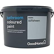 GoodHome Bathroom Toulon Soft sheen Emulsion paint 2.5L