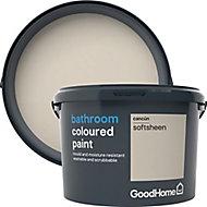 GoodHome Bathroom Cancun Soft sheen Emulsion paint, 2.5L
