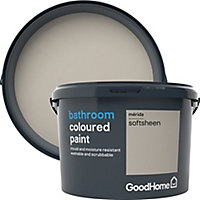 GoodHome Bathroom Merida Soft sheen Emulsion paint, 2.5L