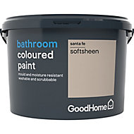 GoodHome Bathroom Santa fe Soft sheen Emulsion paint 2.5L