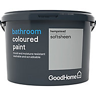 GoodHome Bathroom Hempstead Soft sheen Emulsion paint 2.5
