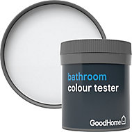 GoodHome Bathroom North pole Soft sheen Emulsion paint 50ml Tester pot