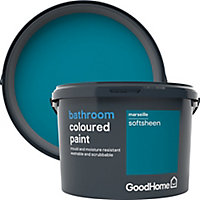 GoodHome Bathroom Marseille Soft sheen Emulsion paint 2.5L