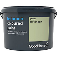 GoodHome Bathroom Galway Soft sheen Emulsion paint 2.5L