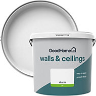 GoodHome Walls & ceilings Alberta Silk Emulsion paint 5L
