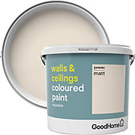GoodHome Walls & ceilings Juneau Matt Emulsion paint, 5L