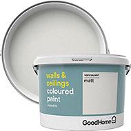GoodHome Walls & ceilings Vancouver Matt Emulsion paint, 2.5L