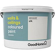 GoodHome Walls & ceilings Vancouver Silk Emulsion paint, 2.5L