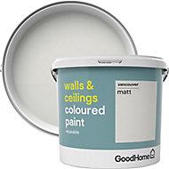 GoodHome Walls & ceilings Vancouver Matt Emulsion paint, 5L