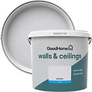 GoodHome Walls & ceilings Whistler Matt Emulsion paint 5L