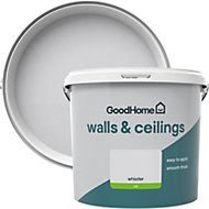 GoodHome Walls & ceilings Whistler Silk Emulsion paint 5L