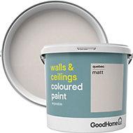 GoodHome Walls & ceilings Quebec Matt Emulsion paint 5L