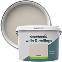 GoodHome Walls & ceilings Tijuana Silk Emulsion paint 2.5L