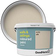 GoodHome Walls & ceilings Puebla Silk Emulsion paint, 2.5L