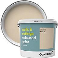 GoodHome Walls & ceilings San jose Matt Emulsion paint, 5L