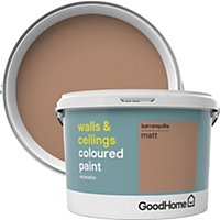GoodHome Walls & ceilings Barranquilla Matt Emulsion paint 2.5L