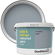 GoodHome Walls & ceilings Minneapolis Matt Emulsion paint, 2.5L