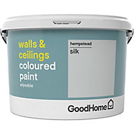 GoodHome Walls & ceilings Hempstead Silk Emulsion paint, 2.5L