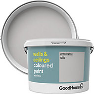 GoodHome Walls & ceilings Philadelphia Silk Emulsion paint, 2.5L