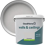GoodHome Walls & ceilings Philadelphia Silk Emulsion paint 5L