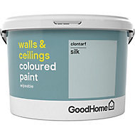 GoodHome Walls & ceilings Clontarf Silk Emulsion paint, 2.5L