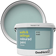 GoodHome Walls & ceilings Artane Matt Emulsion paint, 2.5L