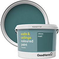 GoodHome Walls & ceilings Milltown Matt Emulsion paint, 2.5L