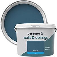 GoodHome Walls & ceilings Antibes Matt Emulsion paint 2.5L