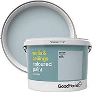 GoodHome Walls & ceilings Toulon Silk Emulsion paint, 2.5L