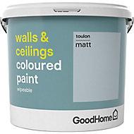 GoodHome Walls & ceilings Toulon Matt Emulsion paint, 5L