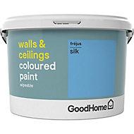 GoodHome Walls & ceilings Frejus Silk Emulsion paint, 2.5L