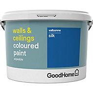 GoodHome Walls & ceilings Valbonne Silk Emulsion paint, 2.5L