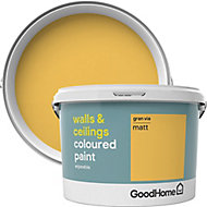 GoodHome Walls & ceilings Gran via Matt Emulsion paint, 2.5L