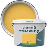 GoodHome Walls & ceilings Gran via Silk Emulsion paint 2.5L