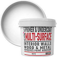 Colours White Multi surface Primer & undercoat 5L