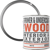 Colours White Wood Primer & undercoat, 2.5L