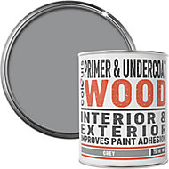 Colours Grey Wood Primer & undercoat, 0.75L