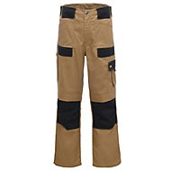 "Site Pointer Beige Trouser W38"" L32"""