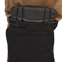 "Site Pointer Black & stone Men's Trousers, W38"" L32"""