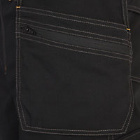 "Site Coyote Black Men's Multi-pocket trousers, One size W34"" L32"""