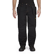 "Site Coyote Black Men's Multi-pocket trousers, One size W38"" L32"""