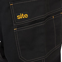 "Site Fox Black Trouser W32"" L32"""
