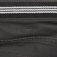 "Site Jackal Black & grey Men's Trousers, W38"" L32"""
