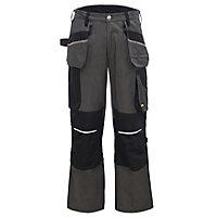 "Site Tanuki Black & grey Trousers, W32"" L32"""