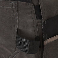 "Site Tanuki Black & grey Trousers, W36"" L32"""